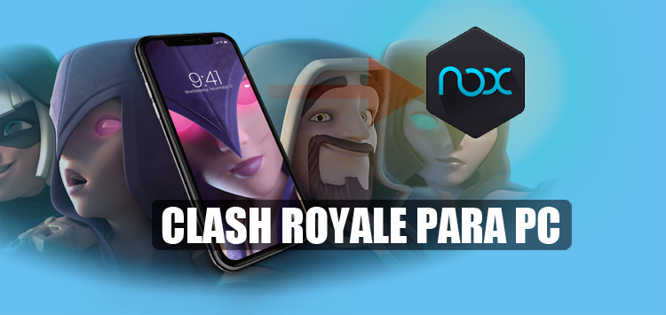 descargar clash royale pc