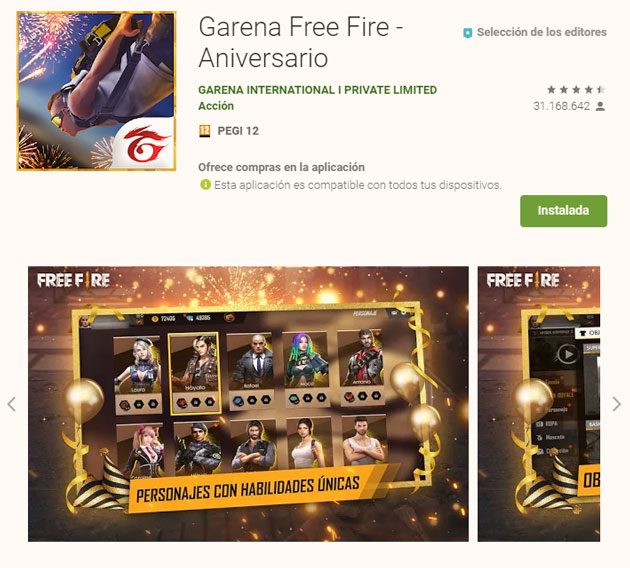 requisitos de free fire en pc