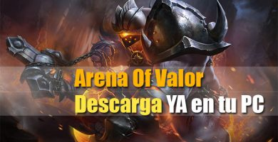 Descargar con emulador Bluestacks arena of valor