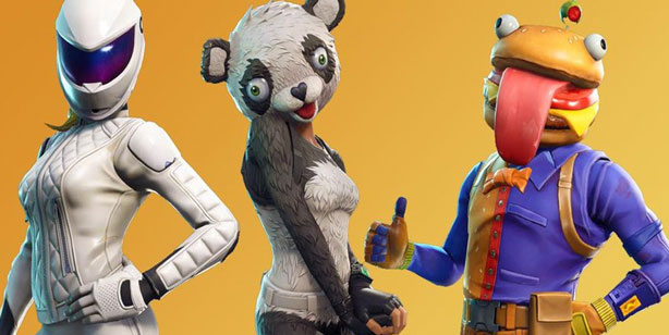 skins legendarias de fortnite